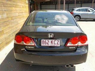 2007 Honda Civic 8th Gen MY07 Sport Black 5 Speed Automatic Sedan