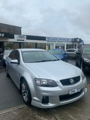 2012 Holden Commodore VE II MY12 SV6 Silver 6 Speed Automatic Sedan.