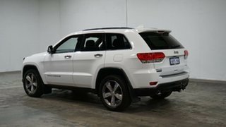 2014 Jeep Grand Cherokee WK MY15 Limited White 8 Speed Sports Automatic Wagon.