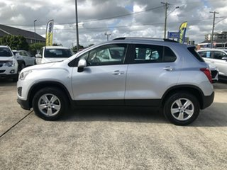 2013 Holden Trax TJ MY14 LS Silver 5 Speed Manual Wagon.