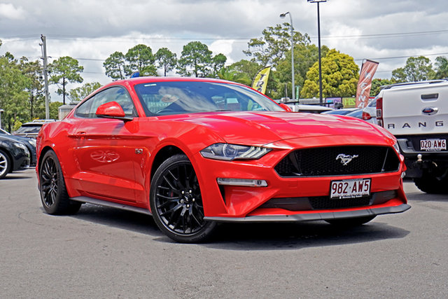 Used Ford Mustang FN 2018MY GT Fastback SelectShift Chandler, 2018 Ford Mustang FN 2018MY GT Fastback SelectShift Race Red 10 Speed Sports Automatic Fastback