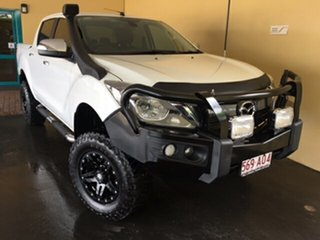 2017 Mazda BT-50 MY17 Update GT (4x4) White 6 Speed Automatic Dual Cab Utility