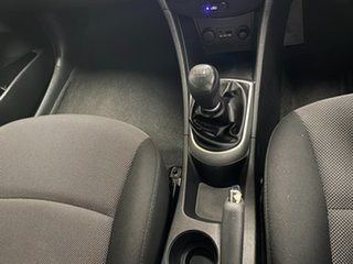 2012 Hyundai Accent RB Active Blue 5 Speed Manual Hatchback