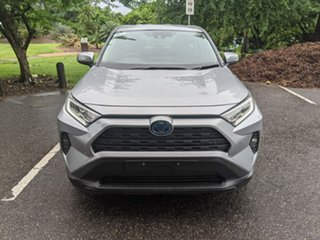 2019 Toyota RAV4 Axah52R GX 2WD Silver 6 Speed Constant Variable Wagon Hybrid.