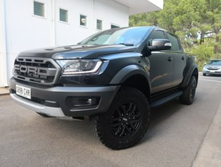 2020 Ford Ranger PX MkIII 2021.25MY Raptor Black 10 Speed Sports Automatic Double Cab Pick Up.