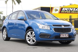 2015 Holden Cruze JH Series II MY15 Equipe Perfect Blue 6 Speed Sports Automatic Hatchback.