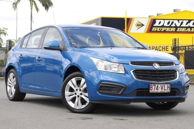 Used Holden Cruze JH Series II MY15 Equipe Rocklea, 2015 Holden Cruze JH Series II MY15 Equipe Perfect Blue 6 Speed Sports Automatic Hatchback