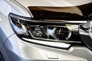 2018 Toyota Landcruiser Prado GDJ150R MY17 GXL (4x4) Silver Pearl 6 Speed Automatic Wagon