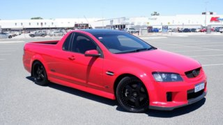 2007 Holden Ute VE SS V Red 6 Speed Manual Utility.