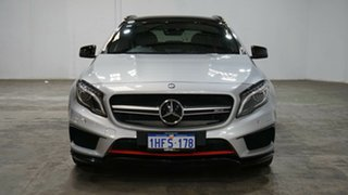 2015 Mercedes-Benz GLA-Class X156 805+055MY GLA45 AMG SPEEDSHIFT DCT 4MATIC Polar Silver 7 Speed