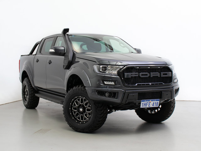 Used Ford Ranger PX MkIII MY21.25 XLT 3.2 (4x4), 2020 Ford Ranger PX MkIII MY21.25 XLT 3.2 (4x4) Grey 6 Speed Automatic Double Cab Pick Up