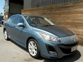 2009 Mazda 3 BL10L1 SP25 Blue 6 Speed Manual Sedan.