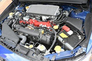 2020 Subaru WRX V1 MY21 STI AWD Premium WR Blue Mica 6 Speed Manual Sedan