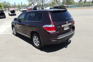 2012 Toyota Kluger GSU40R MY12 KX-R 2WD Red 5 Speed Sports Automatic Wagon.