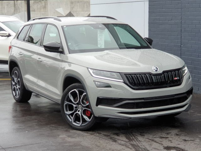Used Skoda Kodiaq NS MY20.5 RS DSG Seaford, 2020 Skoda Kodiaq NS MY20.5 RS DSG Grey 7 Speed Sports Automatic Dual Clutch Wagon