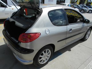 2003 Peugeot 206 T1 MY03 XR S Silver 5 Speed Manual Hatchback