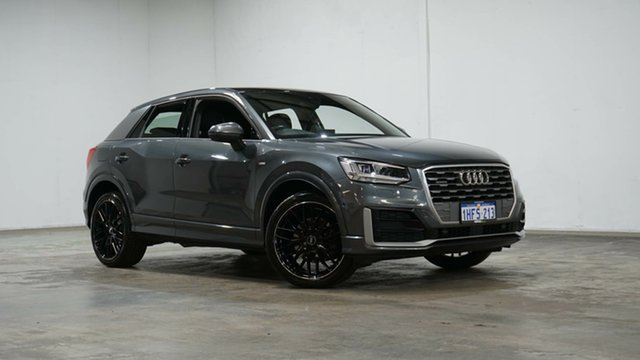 Used Audi Q2 GA MY18 Sport S Tronic Quattro Welshpool, 2017 Audi Q2 GA MY18 Sport S Tronic Quattro Grey 7 Speed Sports Automatic Dual Clutch Wagon