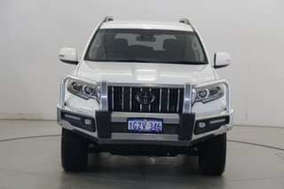 2020 Toyota Landcruiser Prado GDJ150R GXL White 6 Speed Sports Automatic Wagon.