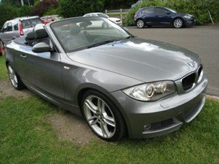2009 BMW 125i E88 MY09 Grey 6 Speed Automatic Convertible