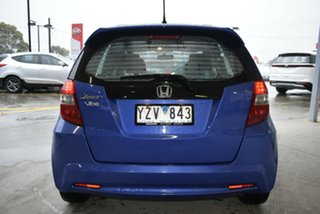 2012 Honda Jazz GE MY12 Vibe Blue 5 Speed Automatic Hatchback