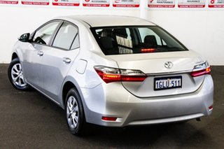 2017 Toyota Corolla ZRE172R Ascent S-CVT Silver Ash 7 Speed Constant Variable Sedan.