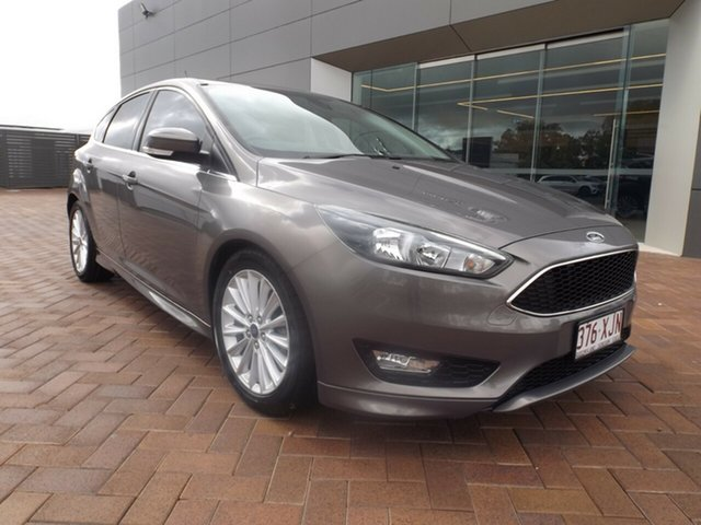 Used Ford Focus LZ Sport Toowoomba, 2016 Ford Focus LZ Sport Grey 6 Speed Manual Hatchback