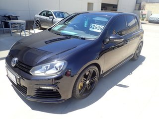 2012 Volkswagen Golf VI MY13 R DSG 4MOTION Metallic Black 6 Speed Sports Automatic Dual Clutch.