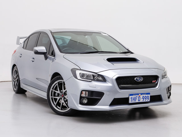 Used Subaru WRX MY15 STI Premium (AWD), 2014 Subaru WRX MY15 STI Premium (AWD) Silver 6 Speed Manual Sedan