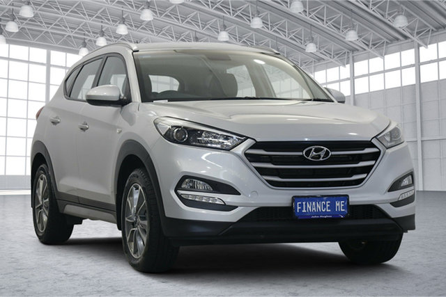 Used Hyundai Tucson TL MY18 Active X 2WD Victoria Park, 2017 Hyundai Tucson TL MY18 Active X 2WD Platinum Silver 6 Speed Sports Automatic Wagon