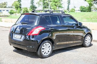 2012 Suzuki Swift FZ GA Black 5 Speed Manual Hatchback