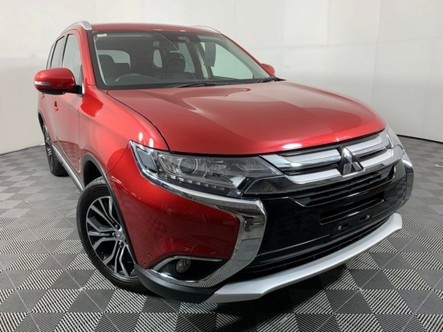 Used Mitsubishi Outlander ZL MY18.5 LS 2WD Wayville, 2018 Mitsubishi Outlander ZL MY18.5 LS 2WD Red 6 Speed Constant Variable Wagon