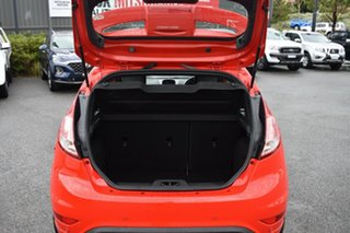 2016 Ford Fiesta WZ ST Red/Black 6 Speed Manual Hatchback