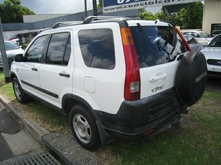 2004 Honda CR-V MY04 (4x4) White 4 Speed Automatic Wagon