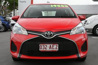 2015 Toyota Yaris NCP130R Ascent Cherry Red 5 Speed Manual Hatchback