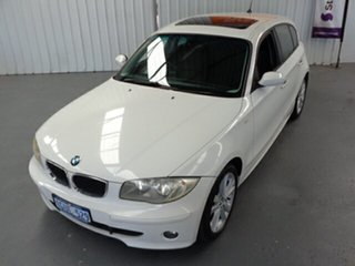 2006 BMW 120i E87 120i White 6 Speed Automatic Hatchback
