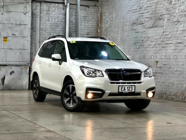 Used Subaru Forester S4 MY18 2.0D-L CVT AWD Mile End South, 2018 Subaru Forester S4 MY18 2.0D-L CVT AWD White 7 Speed Constant Variable Wagon