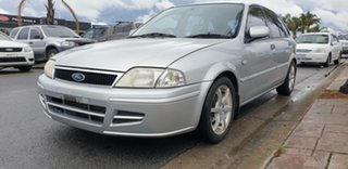 2001 Ford Laser KQ LXI Silver 4 Speed Automatic Hatchback