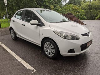 2009 Mazda 2 DE10Y1 Neo White 4 Speed Automatic Hatchback.