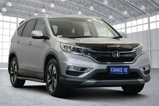 2016 Honda CR-V RM Series II MY17 VTi-L 4WD Silver 5 Speed Sports Automatic Wagon.