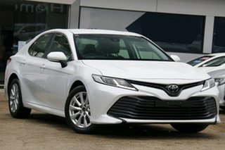 2019 Toyota Camry ASV70R Ascent White Pearl 6 Speed Sports Automatic Sedan.