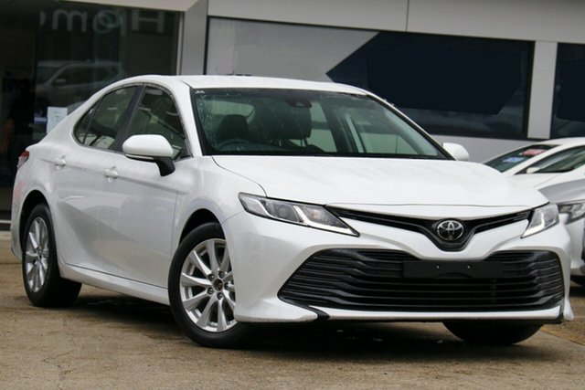 Used Toyota Camry ASV70R Ascent Homebush, 2019 Toyota Camry ASV70R Ascent White Pearl 6 Speed Sports Automatic Sedan