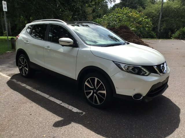 Used Nissan Qashqai J11 TI Stuart Park, 2017 Nissan Qashqai J11 TI White 1 Speed Constant Variable Wagon