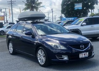 2009 Mazda 6 GH1021 Blue 6 Speed Manual Wagon