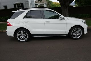 2014 Mercedes-Benz ML400 166 MY14 4x4 White 7 Speed Automatic Wagon