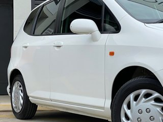 2005 Honda Jazz GD MY05 VTi White 7 Speed Constant Variable Hatchback