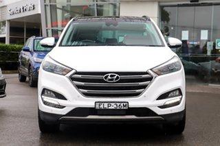 2015 Hyundai Tucson TLE Highlander AWD White 6 Speed Sports Automatic Wagon