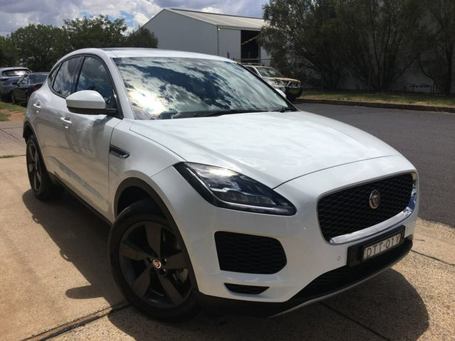Used Jaguar E-PACE Dubbo, 2017 Jaguar E-PACE X540 D180 White Sports Automatic