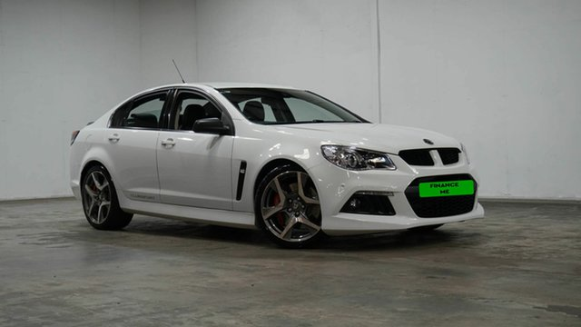 Used Holden Special Vehicles ClubSport Gen-F MY15 R8 Welshpool, 2015 Holden Special Vehicles ClubSport Gen-F MY15 R8 Heron White 6 Speed Manual Sedan