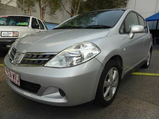 2012 Nissan Tiida C11 Series 3 MY10 ST Silver 4 Speed Automatic Hatchback