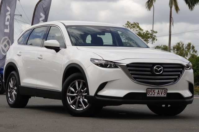 Used Mazda CX-9 TC Touring SKYACTIV-Drive i-ACTIV AWD Rocklea, 2016 Mazda CX-9 TC Touring SKYACTIV-Drive i-ACTIV AWD Snowflake White Pearl 6 Speed Sports Automatic